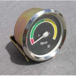 Öldruckmanometer Anzeige Öldruck vercromt 10 Bar Robur LO LD