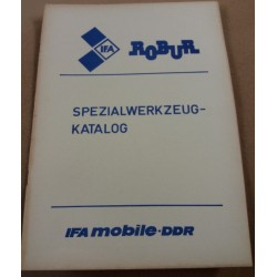 Spezialwerkzeug Katalog Robur LO LD