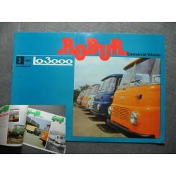 Original Prospekt Robur LO 3000 englisch
