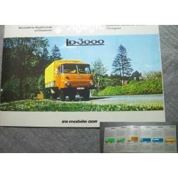 Original Prospekt Robur LD 3000 deutsch