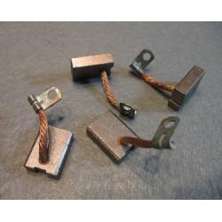 Anlasserkohlen 4x Kohlebürsten EKL M15 Wartburg Barkas