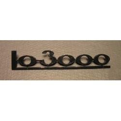 Schriftzug LO 3000 Plaste Robur LO
