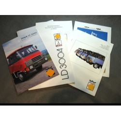 Prospekt 5x Werbung Robur mit Deutz Motor LD 3004 original