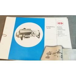 Ersatzteilkatalog Sirokko 232 Dieselheizung Liste