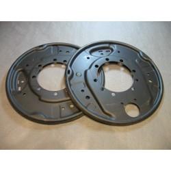 Ankerplatten Vorderachse 2x Ankerplatte Halteblech links rechts Robur LO LD 72251 72260